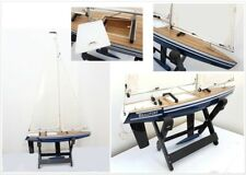 Boat IN Sailing Of Wood Remote-Controlled Beaufort 6200 Scale Assembled Model RC