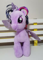 BUILD A BEAR MLP TWILIGHT SPARKLE PLUSH TOY! SOFT TOY ABOUT 42CM TALL KIDS TOY