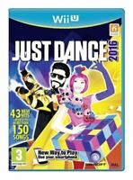 Just Dance 2016 (Wii U Game) *VERY GOOD CONDITION*