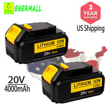 DEWALT DCB204-2 Lithium-ion Battery Pack - 20V, 2 Piece