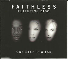 FAITHLESS w/ DIDO One Step too Far 5TRX EDT & MIXES & INSTRUMENTAL CD single
