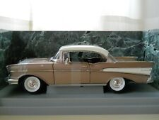 AMERICAN MUSCLE - 1957 CHEVY / CHEVROLET BEL AIR FUEL INJECTION  - 1/18