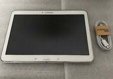 Samsung Galaxy Tab 4 SM-T530NU 16GB, Wi-Fi, 10.1in - White Works Great Tablet