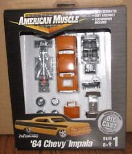 American Muscle '64 Chevy Impala ORANGE Model Car Kit 1:64 Ertl DieCast Toy 2000
