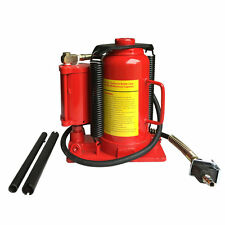 20 Ton Air Hydraulic Ture Bottle Jack/Stands Automotive Lift Repair Tools Red US