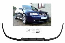 For Audi A3 8L Front Bumper Cup Chin Spoiler Lip Valance Splitter with Screws