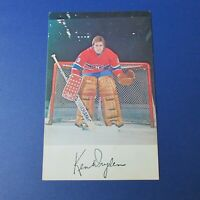 KEN DRYDEN  1977-78  Montreal Canadiens team color postcard  1977 1978  HOF RARE