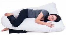 Full Body Contour U Support Side Pillow for Pregnant Women and New Mothers