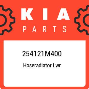 254121M400 Kia Hoseradiator lwr 254121M400, New Genuine OEM Part