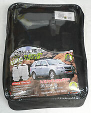 FULL CAR PACK WATERPROOF CANVAS CAR SEAT COVERS FORD TERRITORY 04-ON