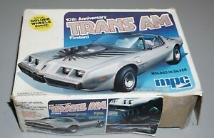 10th Anniversary Trans Am Firebird MPC 1/25 Complete & Unstarted.