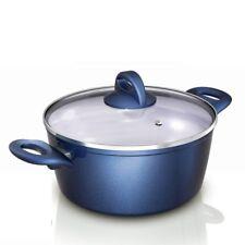 Genius - Cerafit Fusion Topf Set 2-tlg Ø22 Blau Keramik-Töpfe Kochtöpfe 24097
