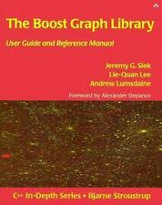 The Boost Graph Library: User Guide and Reference Manual [With CDROM] (Mixed Med