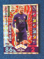 Match Attax Trading Card - 2016/17 - Fraser Forster - Southampton - Star Player