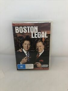 Boston Legal : Season 5 DVD REGION 4 Very Good Condition TV Show