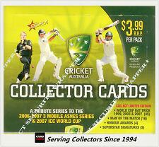 Cricket Card Box--2007-08 Select Cricket Trading Card Factory Box (32 Packs)