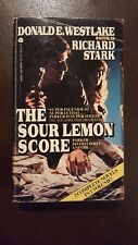 "Richard Stark, ""Sour Lemon Score/Deadly Edge,"" 1985, Avon, VG, 1st"