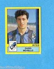 PANINI CALCIATORI 1988/89-Figurina n.140- MORELLO - INTER -Recuperata