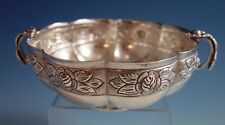 Aztec Rose by Sanborns Mexican Mexico Sterling Silver Bowl w/Inscription (#1791)