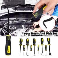 9pcs Handcraft Hook & Pick Set Picks Gasket O-Ring & Seal Remover Craft Tools