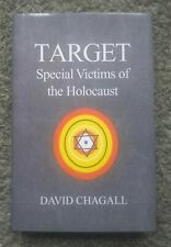 TARGET SPECIAL VICTIMS OF HOLOCAUST HARDCOVER BOOK CHAGALL WW2 JEWISH HISTORY