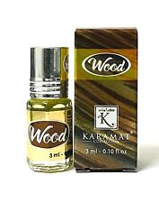 Wood 3ml Perfume Oil by Karamat Collection Floral Amber Vetiver Oud Ceder