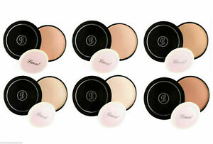 Laval Pressed Face Powder Compact Foundation Setting Powder Translucent Beige
