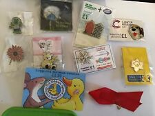 ** MINT ~ Mixed Lot Of 10 Charity Pin Badges **