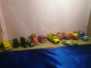 COLLECTABLE GROUP LOT TONKA, DISNEY, ERTL OTHER X12 - USED