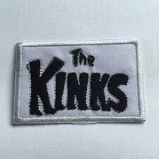 Iron On/ Sew On Embroidered Patch Badge The Kinks Mod Rock Band Music
