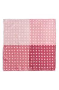 J.Z. RICHARDS Pink Polka Dot Pocket Square 140153