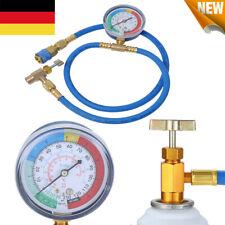 R134A Auto Klimaanlage Kältemittel Füllschlauch Ladeschlauch Druckmanometer DE