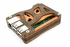 Zebra Bio all Wood Case ~ for Raspberry Pi 3, Pi 2 and B+  ~  by C4Labs