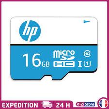 Carte Mémoire Micro SD SDHC HP 16 Go + Adaptateur Micro SD offert Classe 10