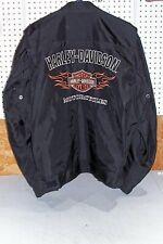 Mens Size XL Harley Davidson Ride Ready Jacket Coat Black 98303-10VM Motorcycle