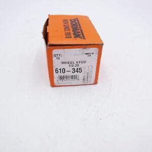 10 Pack Dorman Wheel Lug Stud Front/Rear 610-345 1/2-20 Fits 2011 Ford Ranger