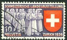 SWITZERLAND - SVIZZERA - 1939 - Esposizione naz. a Zurigo - 10 c. (in tedesco)