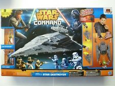 Star Wars Command - Star Destroyer - 9 Figurines et Véhicules