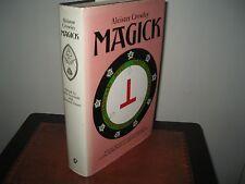 MAGICK ALEISTER CROWLEY HARDBACK 1983