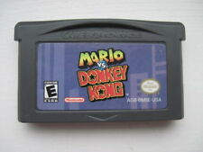 Mario vs. Donkey Kong Nintendo Game Boy Advance *Authentic & Saves*