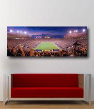 LSU Tigers Football Stadium Death Valley Panoramic StadiumCanvas Print  34 x 12