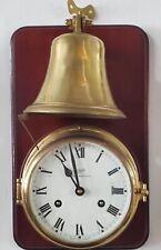 "RARE Schatz ""Royal Mariner"" 14 Day Bell Clock with Key"
