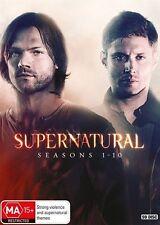 SUPERNATURAL COMPLETE SEASON 1 2 3 4 5 6 7 8 9 & 10 DVD BOX SET R4 1 - 10
