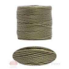 Cream 77 Yds. Super-Lon #18 Beading Crafting Stringing Crochet Cord