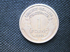 1 Franc Morlon bronze-alu 1936    TTB