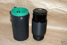 Vintage Makinon Zoom lens 1:3.5 f=80-200mm with origianl Case Made in Japan