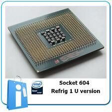 CPU intel XEON 2.8 Ghz 512Kb Socket 604 with 1 U Cooler SL72F