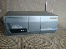 Old School Alpine 12 Disc Cd Changer Cha-1204 Ai-Net + Magazine Made In Japan