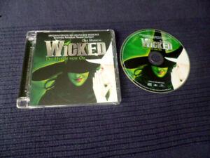 CD Wicked Die Hexen Von Oz Deutsches Musical Stuttgart Musik & Texte 19 Songs