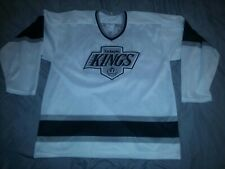 WAYNE GRETZKY #99 LOS ANGELES KINGS WHITE REPLICA CCM HOCKEY JERSEY LARGE